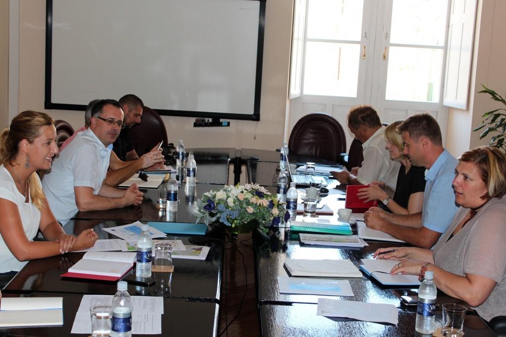 S predstavnicima Hrvatskih voda o Europskim projektima vodno – komunalne infrastrukture